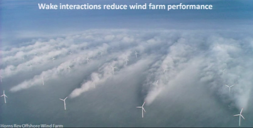 North Sea Wind Farm Turbulence