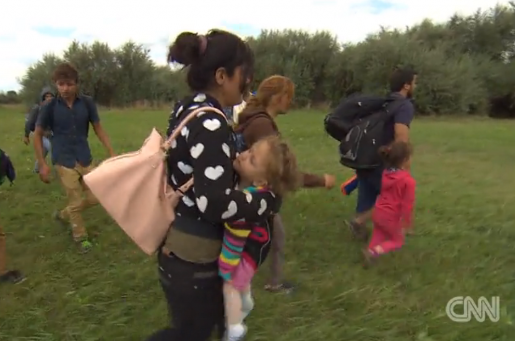 Refugees with young children