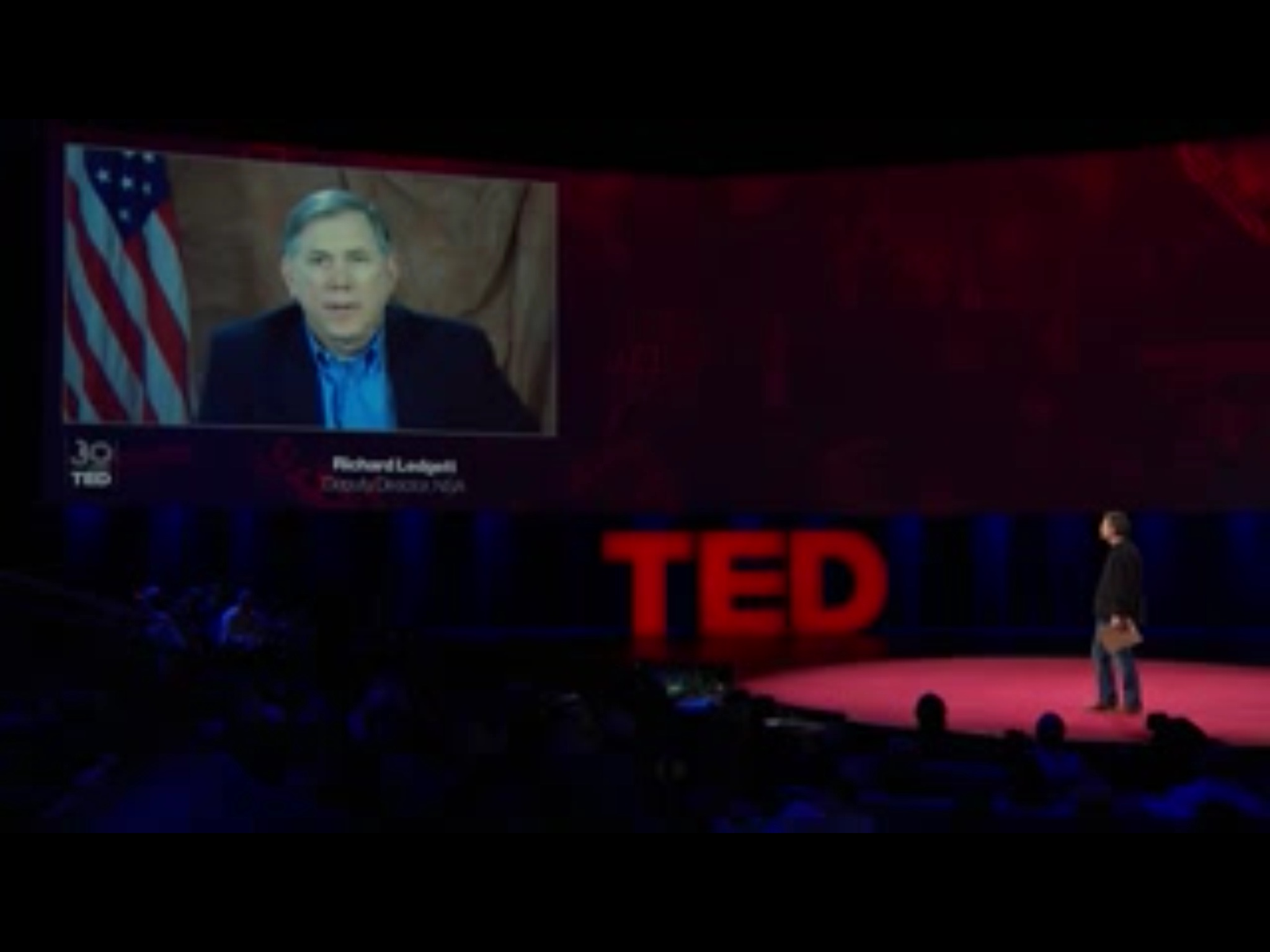 Rick Ledgett at TED